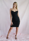 Midnight Affair Bodycon Black