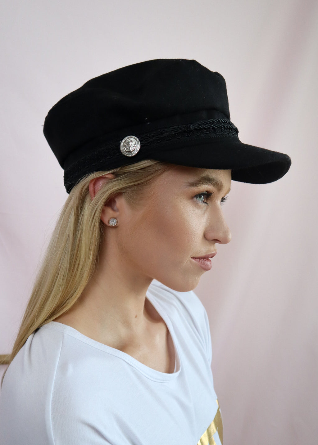 Black Fiddler Hat