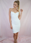 Midnight Affair Bodycon White