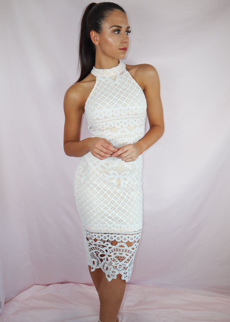 Lace Love Bodycon Midi
