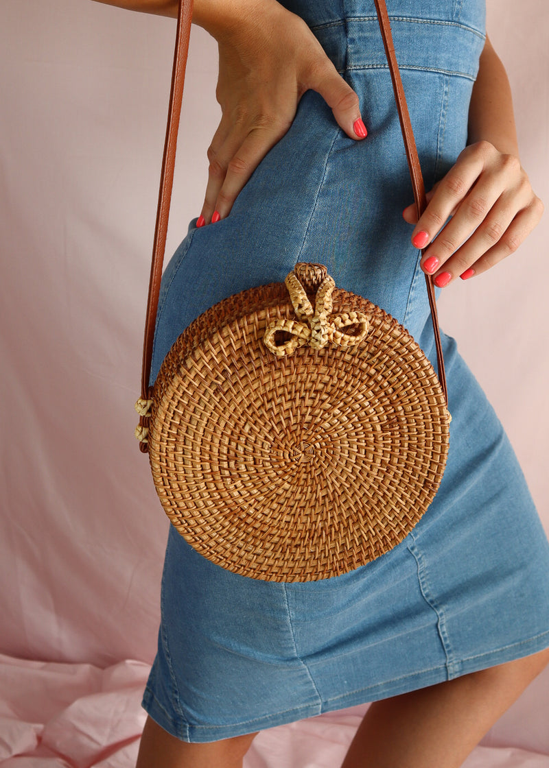 Rattan Bag Brown