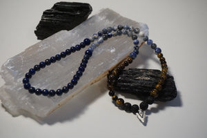 Truth Warrior Intentional Healing Triple Stack Necklace