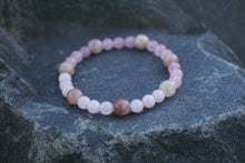 Load image into Gallery viewer, Intentional Healing Rose Quartz and Moonstone Gemstone Bracelet