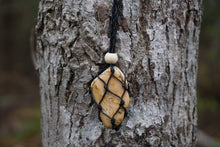 Load image into Gallery viewer, Intentional Healing Picture Jasper Macrame Necklace