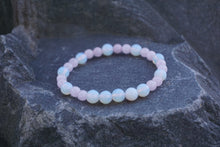 Load image into Gallery viewer, Intentional Healing Rose Quartz and Opalite Gemstone Bracelet