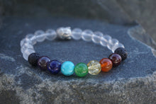 Load image into Gallery viewer, Intentional Healing Chakra Diffuser Bracelet