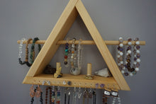 Load image into Gallery viewer, Crystal Jewelry Triangle Shelf