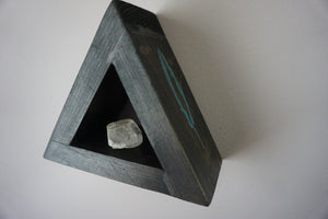 Miniature Crystal Triangle Shelf