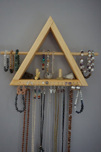 Crystal Jewelry Triangle Shelf