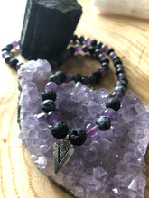 Load image into Gallery viewer, Strength Warrior Intentional Healing Triple Stack Necklace