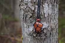 Load image into Gallery viewer, Intentional Healing Goldstone Macrame Necklace