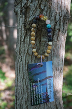 Load image into Gallery viewer, Intentional Healing Picture Jasper Chakra Diffuser Gemstone Bracelet