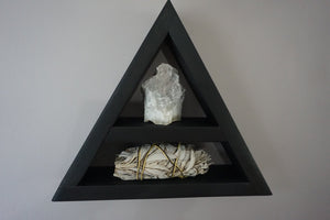 Small Moon Phases and Feather Triangle Shelf