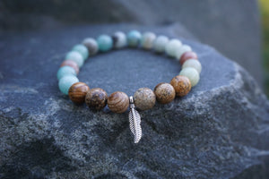 Intentional Healing Soulcation Gemstone Bracelet