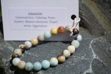 Load image into Gallery viewer, Intentional Healing Amazonite Gemstone Bracelet