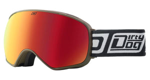 Dirty Dog Bullet Snowsport Goggles