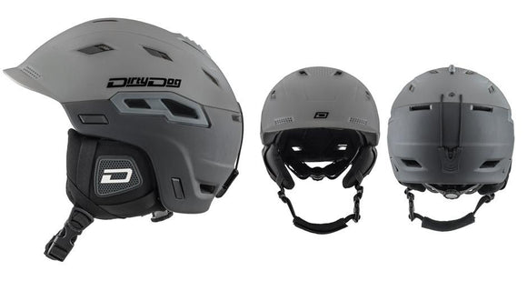 Dirty Dog Crater Two Tone Snowsport Helmet