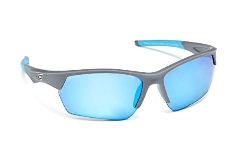 Dirty Dog Sport Track Ice Blue Mirror Sunglasses