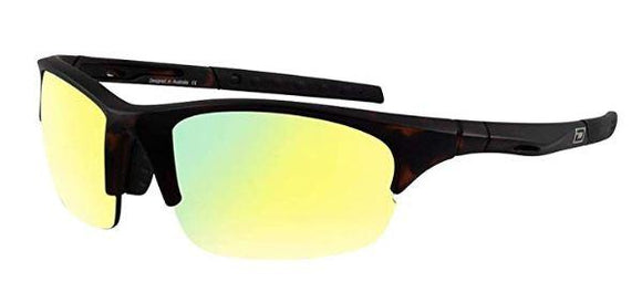 Dirty Dog Sport Ecco Gold Fusion Mirror Sunglasses