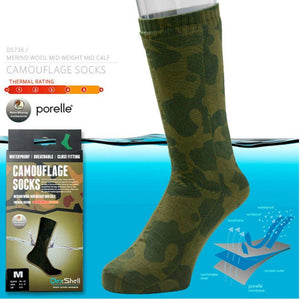 DexShell Activity Camo Socks