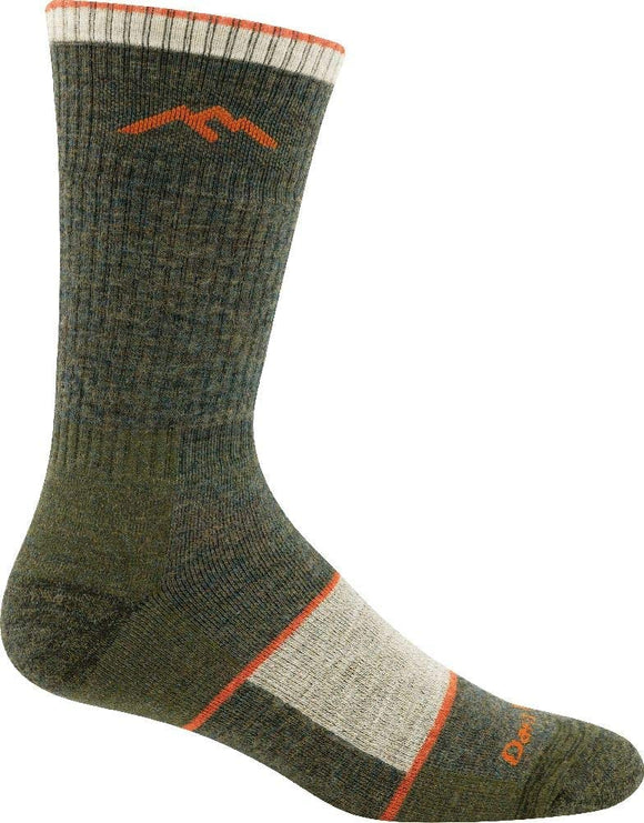 Darn Tough Hiker Boot Sock Full Cushion Socks - Olive