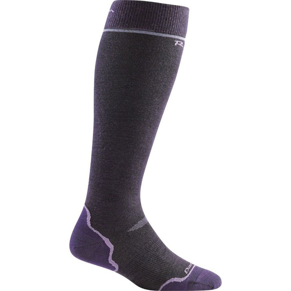 Darn Tough Over-the-Calf Padded Cushion Womens Ski Socks