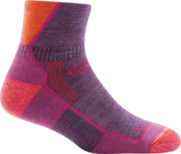 Darn Tough Women's Hiking 1/4 Cushion Socks