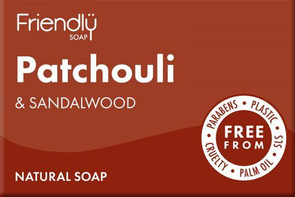 Friendly Patchouli and Sandalwood Soap Bar