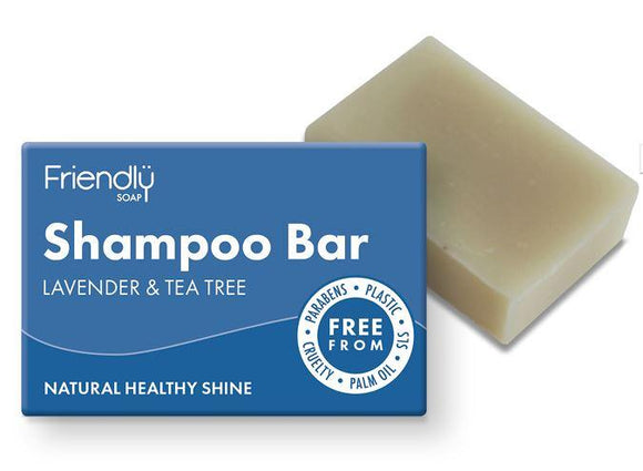 Friendly Lavender and Tea Tree Shampoo Bar