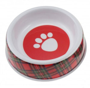 Glen Appin Tartan Dog Bowl