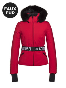 Goldbergh Women's Hida Ski Jacket - Faux Fur