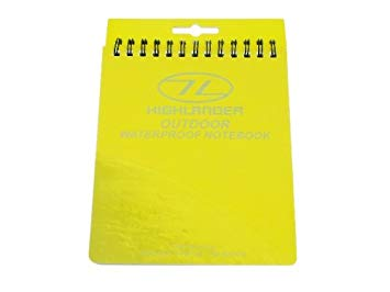 Highlander Waterproof  Note Book