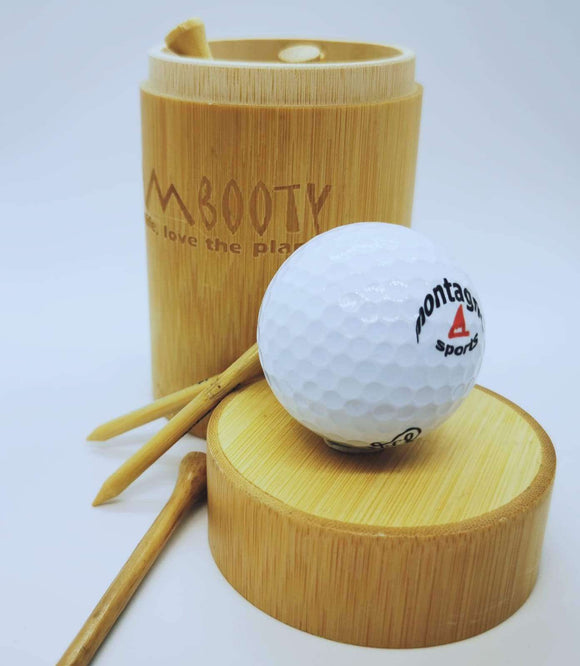 Bambooty Sports Golf Ball Gift Set
