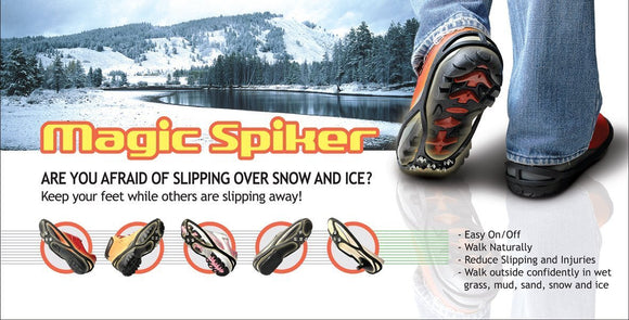 Magic Spiker Ice and Mud Grippers Official UK Approved