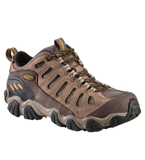 Oboz Men's Sawtooth Low B-Dry Waterproof Hiking Shoe
