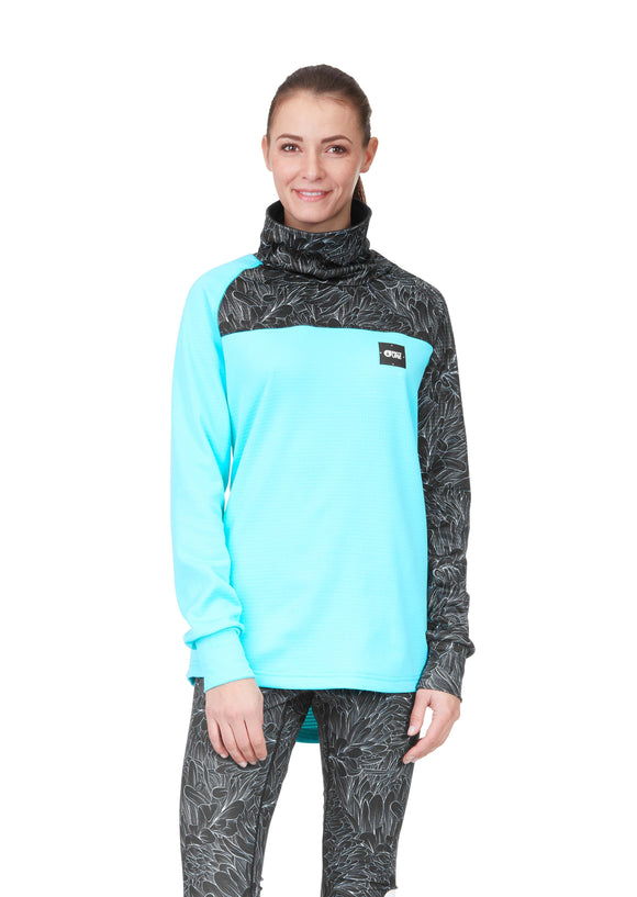 Picture Women's Layering Blossom Grid Fleece