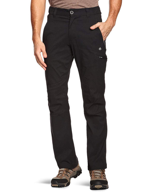Craghoppers Men's Kiwi Pro Stretch Active Trousers - Black