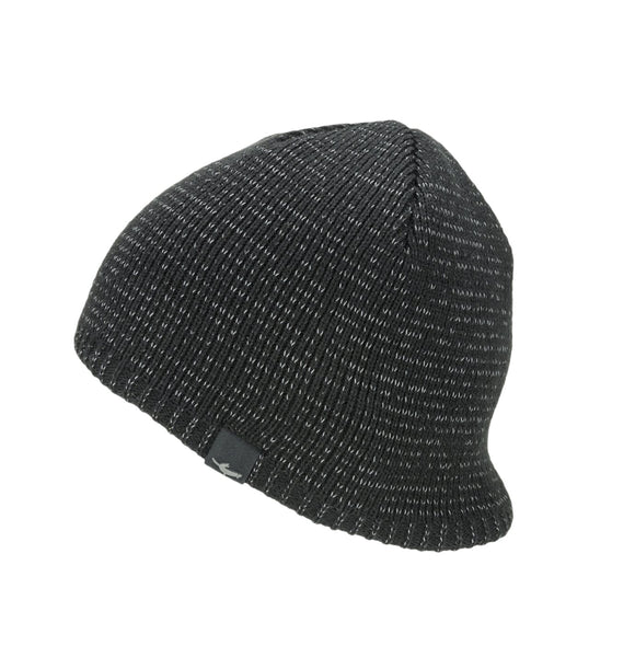 Sealskinz Waterproof Cold Weather Reflective Beanie - Black