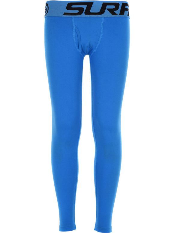 Surfanic Boy's Baselayer Bodyfit Long Johns