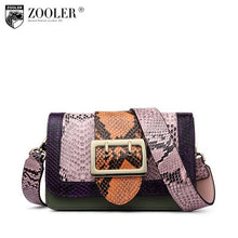 Load image into Gallery viewer, Big Sale Genuine leather shoulder bag for women designer leather shoulder bag ZOOLER High quality cross body bag lady purse#2958