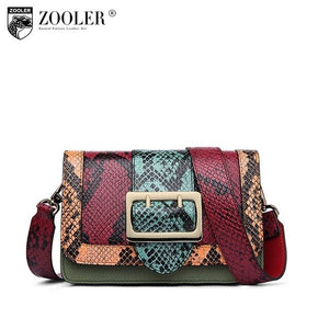 Big Sale Genuine leather shoulder bag for women designer leather shoulder bag ZOOLER High quality cross body bag lady purse#2958