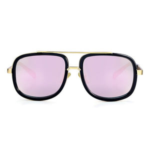 2019 New Fashion Big Frame Sunglasses Men Square Fashion Glasses for Women High Quality Retro Sun Glasses Vintage Gafas Oculos