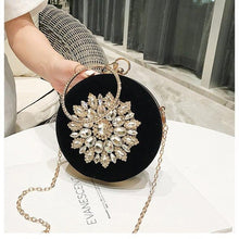 Load image into Gallery viewer, Wonen Evening Bags Fashion Women Dinner Bag Crystal Clutch Bag Ladies High Quality Evening Clutch Bags Fashion Purse