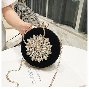 Wonen Evening Bags Fashion Women Dinner Bag Crystal Clutch Bag Ladies High Quality Evening Clutch Bags Fashion Purse