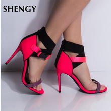 Load image into Gallery viewer, New Women High Heel Shoes Butterfly Celebrity Wearing Thin Heel Ladies Leather Shoes Business Pointed Toe Pumps Shoes Office