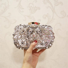 Load image into Gallery viewer, 2020 high quality women beads clutch bags luxury diamond banquet bags clutch purse for ladies drop shipping MN1275