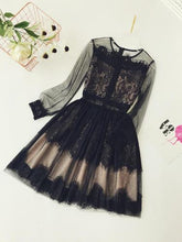 Load image into Gallery viewer, Women's Dresses 2019 Spring Summer Fashion Dressup Black Lace Short Mini Party Birthday Girl Clothes Celebrity Sexy Female