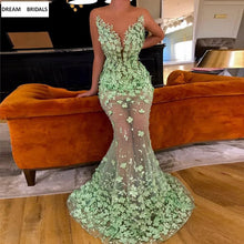 Load image into Gallery viewer, Illusion Beading Pearls Lace Celebrity Dresses Sweetheart Red Carpet Women Dresses Lady Court Train Vestidos Long