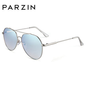 PARZIN Brand Design New Pilot Sunglasses Women Men Driving High Quality Alloy Frame UV400 Mirror Sun Glasses Lady's Fashion