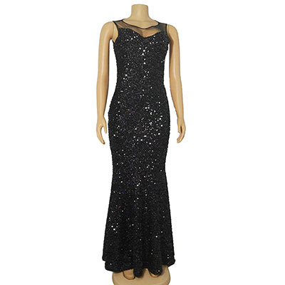 2019 Europe Sexy Sequin Dress